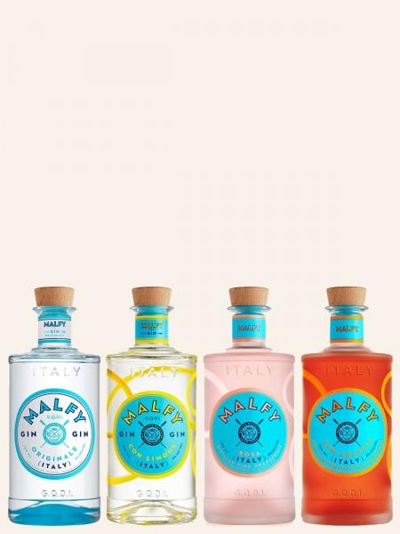 Miniatur - Gin Range - Tasting Set 4x 50 ml - Gin