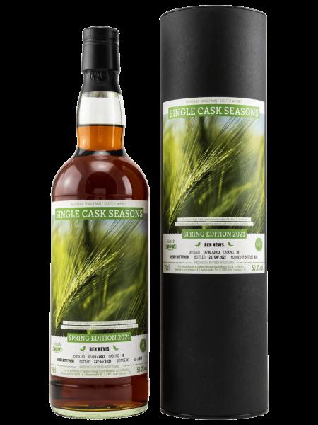 Single Cask Seasons - Spring Edition 2021 - 2013/2021 - Single Malt Scotch Whisky