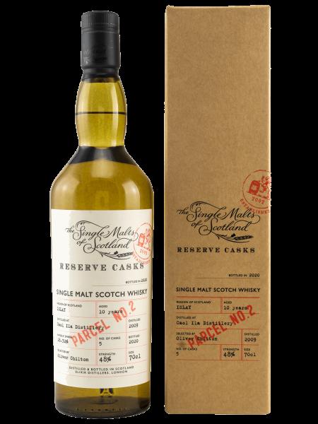 Parcel No. 2 - 10 Jahre - Reserve Cask - Islay Single Malt Scotch Whisky