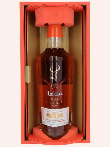 21 Jahre - Gran Reserva - Rum Cask - 2021 - Single Malt Scotch Whisky
