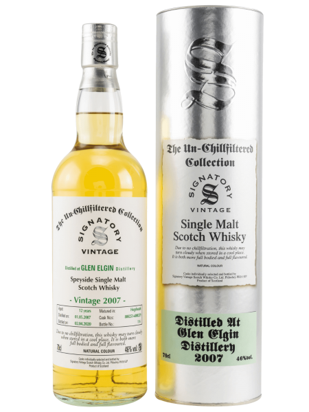 12 Jahre - 2007 - Signatory Vintage - Un-Chillfiltered Collection - Single Malt Whisky