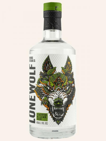 LoneWolf - Cactus & Lime - Gin
