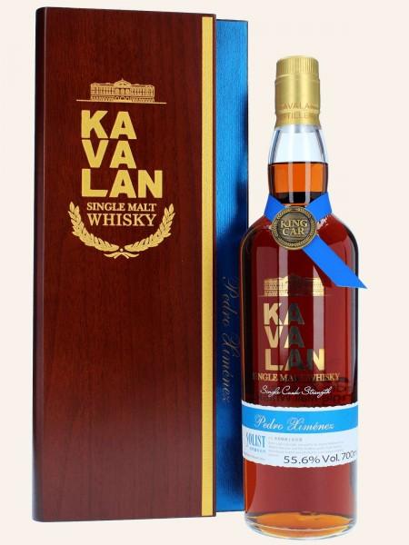 Solist Pedro Ximenez - Kavalan Solist - PX110223001A - Cask Strength - Single Malt Whisky