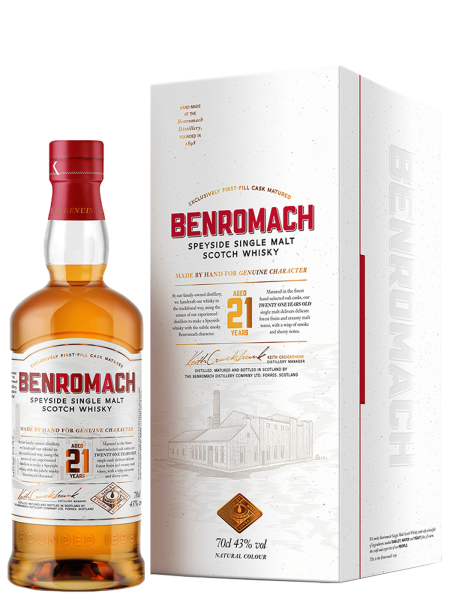 21 Jahre - Single Malt Scotch Whisky