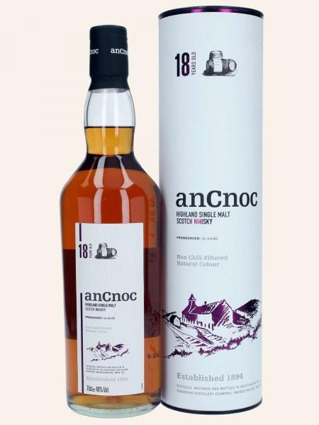 AnCnoc - 18 Jahre - Highland Single Malt Scotch Whisky