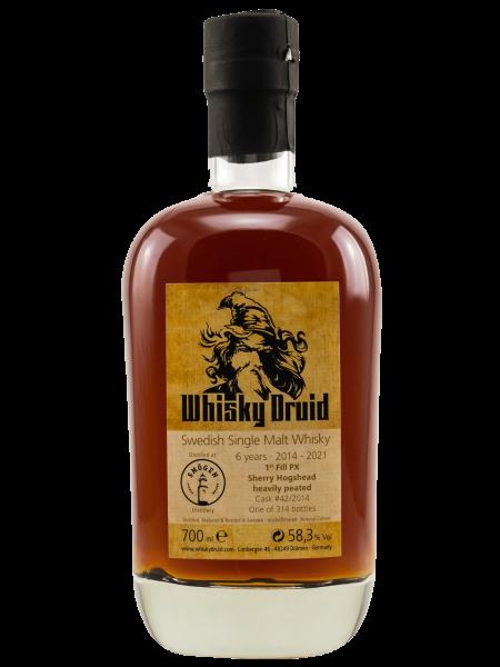 Whisky Druid - 6 Jahre - 2014/2021 - Cask No. 42/2014 - Swedish Single Malt Whisky