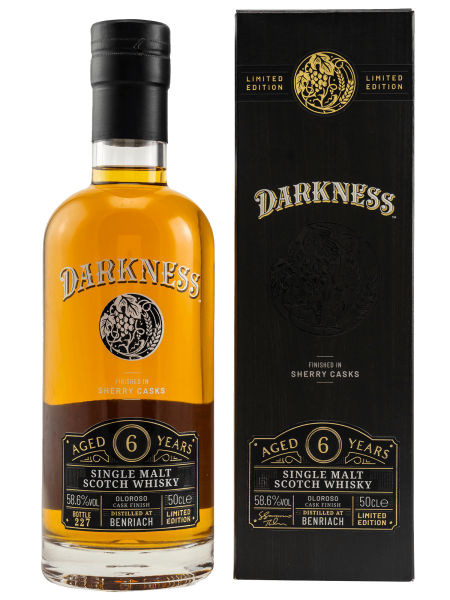 Darkness - Oloroso Sherry Cask Finish - 6 Jahre - Single Malt Scotch Whisky