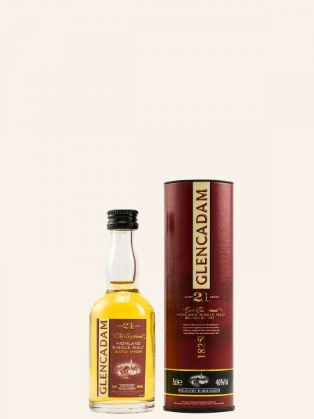 Miniatur - 21 Jahre - Highland Single Malt Scotch Whisky