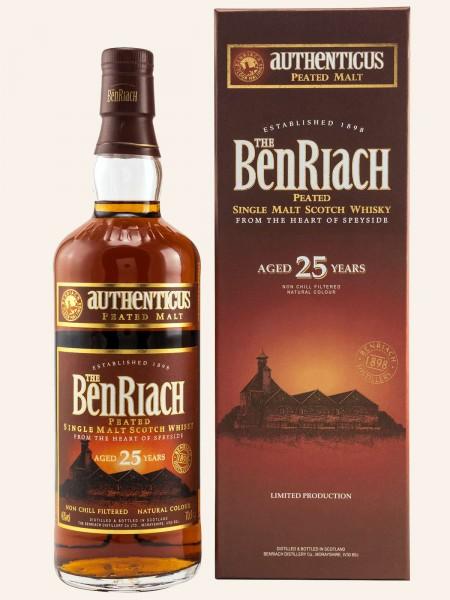Authenticus - 25 Jahre - Single Malt Scotch Whisky