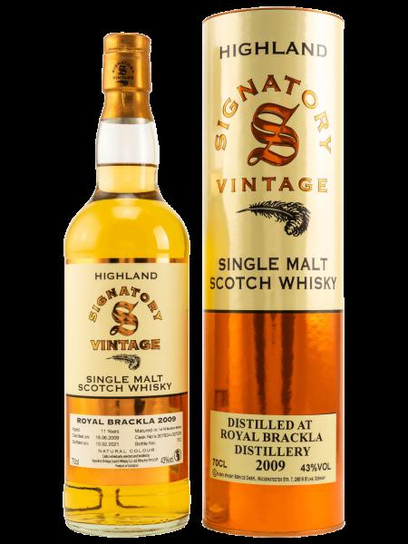 11 Jahre - 2009 - Signatory Vintage - Single Malt Scotch Whisky