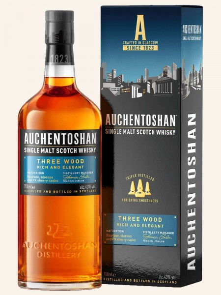 Three Wood - Single Malt Scotch Whisky